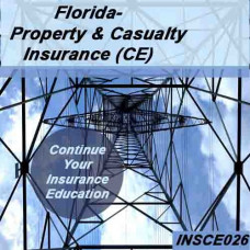 Florida - PROPERTY AND CASUALTY INSURANCE CE (INSCE026FL14)